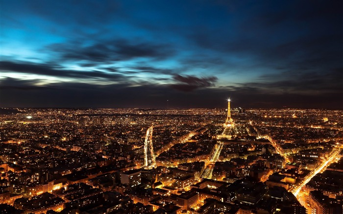 paris city lights-France landscape wallpaper Views:24778 Date:7/4/2012 7:54:11 PM