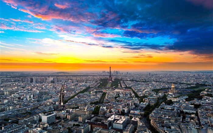 paris cityscape-France landscape wallpaper Views:33598 Date:7/4/2012 7:54:50 PM