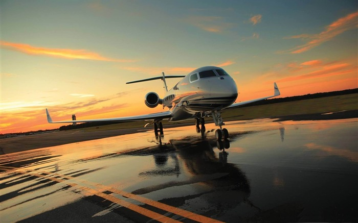 private plane-Aircraft transport Wallpaper Views:4152