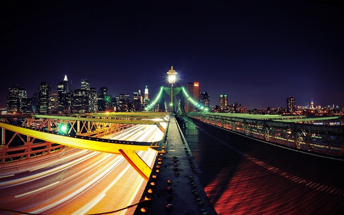 road to new york city-City travel landscape wallpaper Views:4696