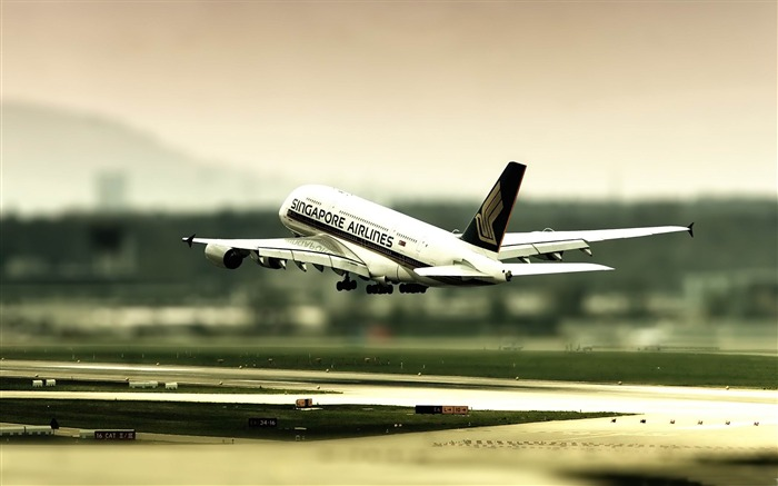singapore airlines-Aircraft transport Wallpaper Views:5209