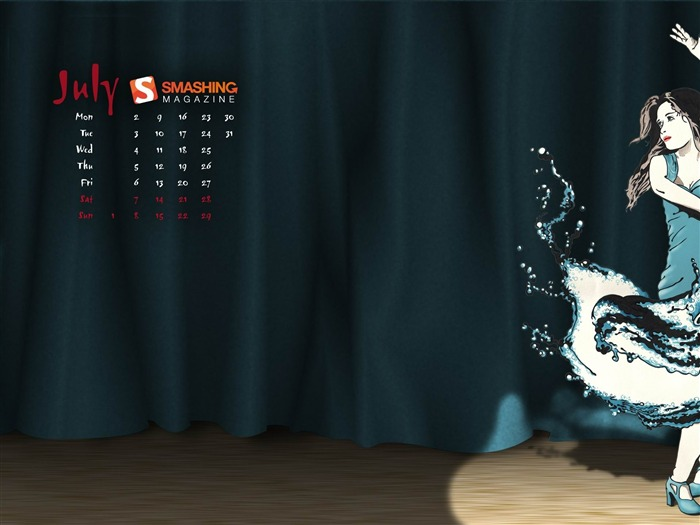 splash dance-July 2012 calendar wallpaper Views:4686 Date:7/1/2012 2:03:32 AM