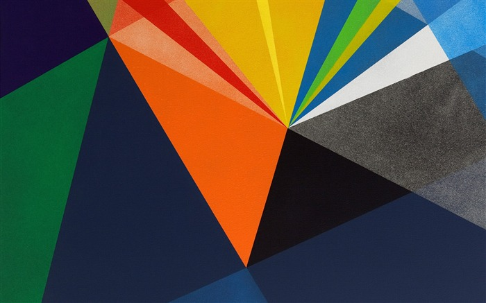 Abstract blocks of color-Mac OS Wallpaper Views:35405 Date:8/16/2012 1:19:41 AM