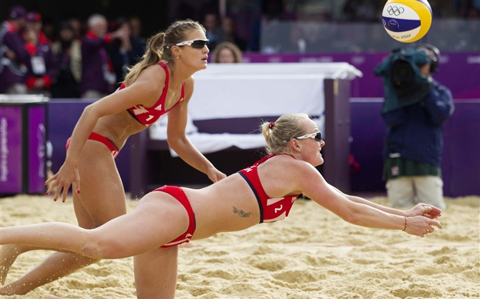 Beach Volleyball-London 2012 Olympic Views:14529 Date:8/6/2012 2:47:23 AM
