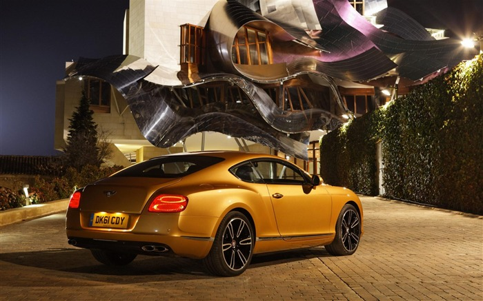 Bentley Continental GT V8 rear-Cars desktop wallpaper Views:8940