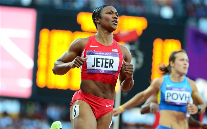 Carmelita Jeter Track and field-London 2012 Olympic Views:8049 Date:8/6/2012 2:48:18 AM