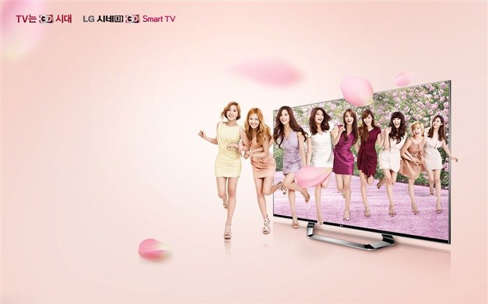 Girls Generation LG TV Advertising Wallpaper Views:8869