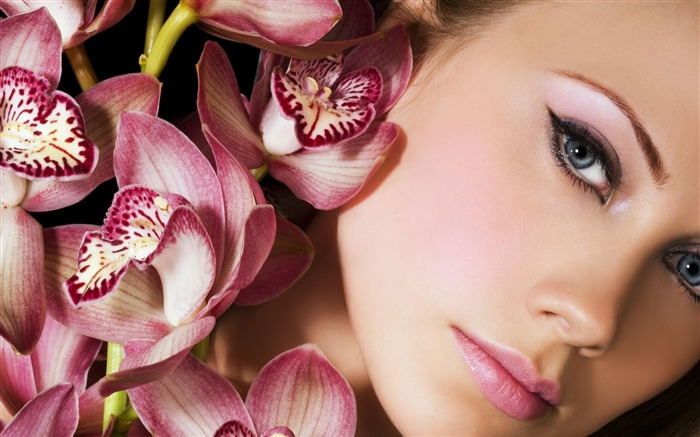 Lovely Face-beauty photo wallpaper Views:17550