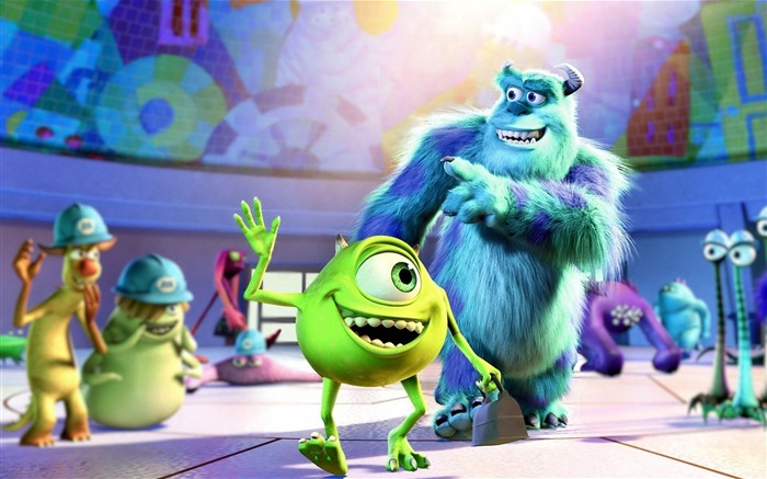Monsters University 2013 Movie HD Wallpaper Views:21877