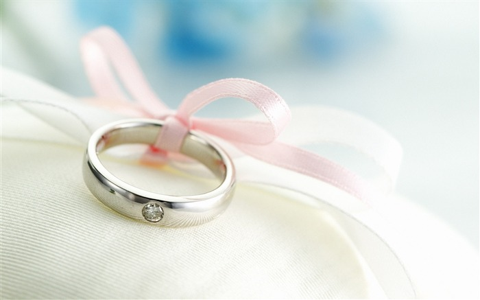 Romantic Valentines Day rings Desktop wallpaper Views:7798