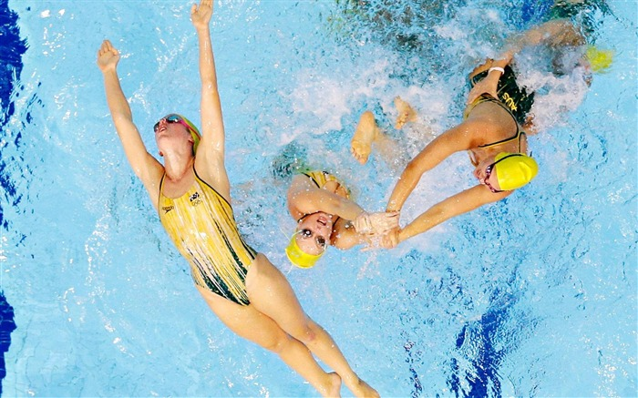 Synchronized Swimming-London 2012 Olympic Views:12093 Date:8/6/2012 3:02:59 AM