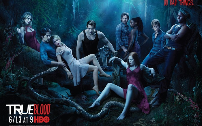 True Blood-American TV series Wallpaper Views:14585