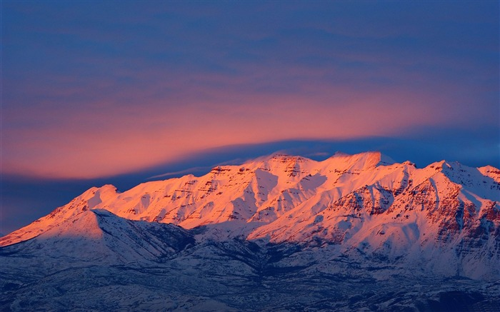 mount timpanogos sunset-American Photography Wallpapers Views:6417 Date:8/27/2012 12:11:13 AM