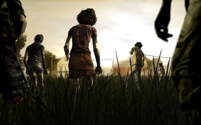the walking dead-2012 Game wallpaper Views:15461