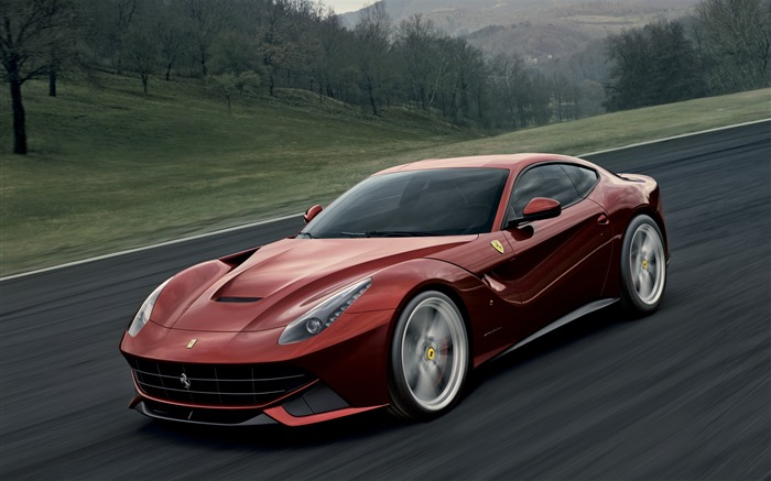 2012 Ferrari F12 Berlinetta Auto HD Wallpaper 06 Views:10866 Date:9/5/2012 7:52:43 PM
