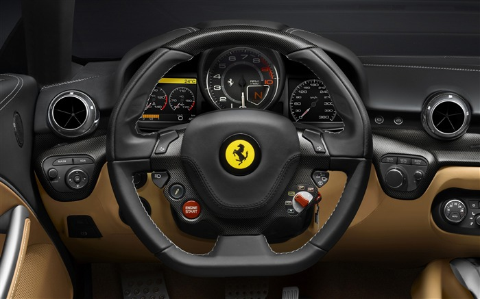 2012 Ferrari F12 Berlinetta Auto HD Wallpaper 08 Views:7737 Date:9/5/2012 7:53:20 PM