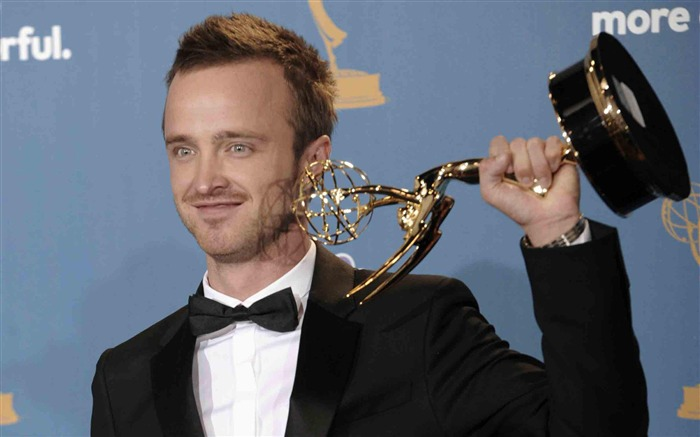 Aaron Paul-2012 64th Emmy Awards Highlights wallpaper Views:6978