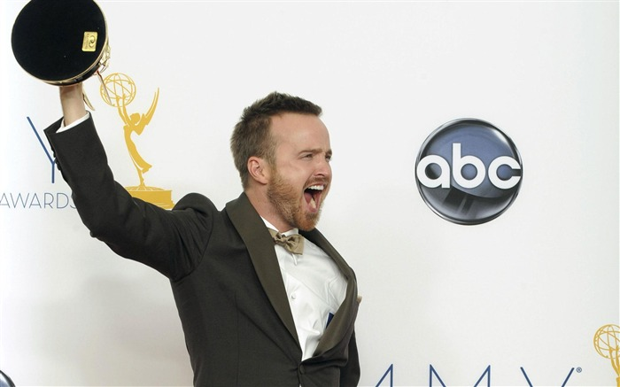 Aaron Paul -2012 64th Emmy Awards Highlights wallpaper Views:3720
