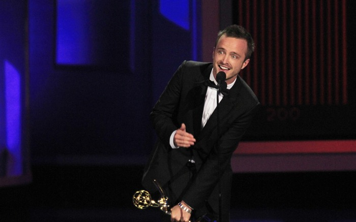 Aaron Paul Actor-2012 64th Emmy Awards Highlights wallpaper Views:5302