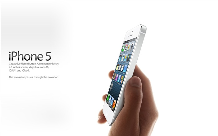 Apple iPhone 5 latest official HD Desktop Wallpapers 15 Views:11439