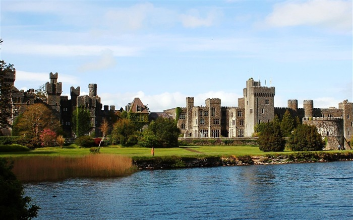 Ashford Castle County Mayo Ireland-Nature Landscape Wallpapers Views:22626