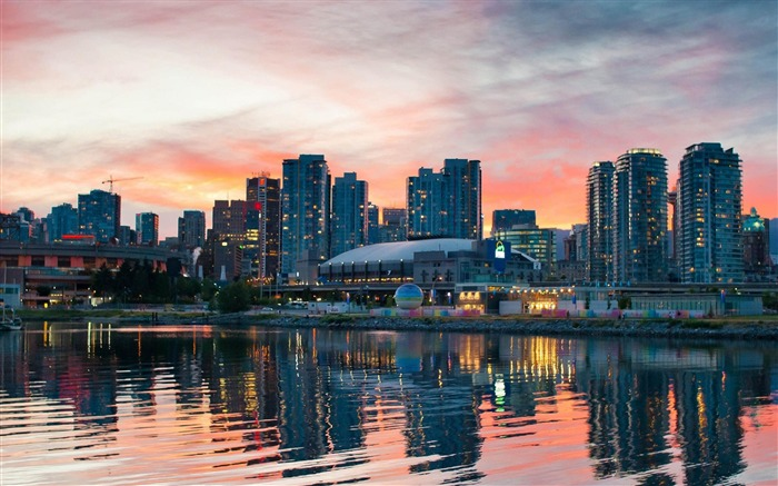 Beautiful Vancouver Canada-City photography wallpaper Views:16252