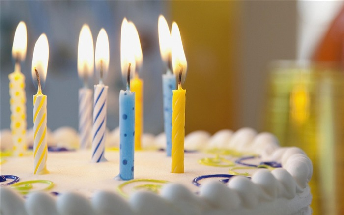 Birthday cake Candles-High Quality wallpaper Views:36747