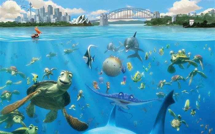 Finding Nemo D Animasi Hd Wallpaper: ファインディングニモ Finding Nemo 3D : 好きな映画を壁紙にしよう!★PCデスクトップ壁紙 まとめ