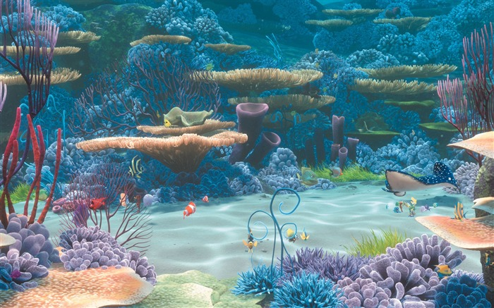 Finding Nemo 3d Movie Hd Desktop Wallpaper 07