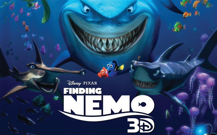 Finding Nemo 3D Movie HD Desktop Wallpaper Views:14509