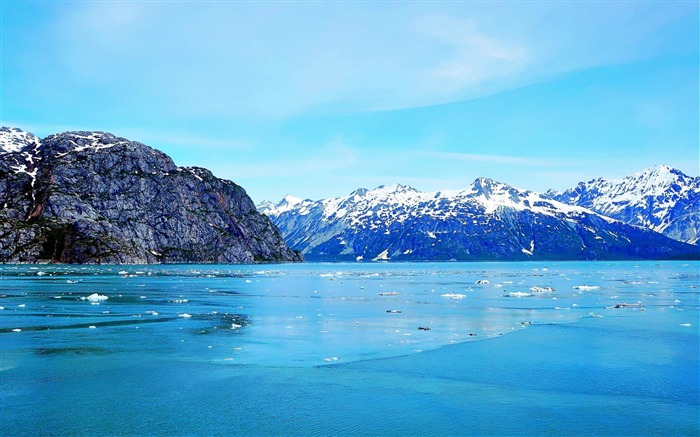 Glacier Bay Basin in southeastern-Nature Wallpapers Views:7058