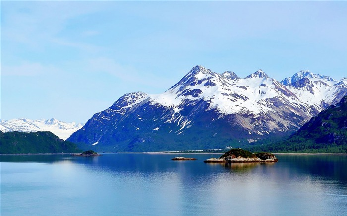 Glacier Bay Basin in southeastern -Nature Wallpapers Views:5369