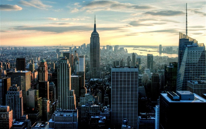 New York City Empire State Building-City photography wallpaper Views:96961