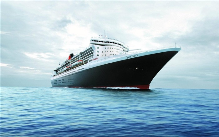 Queen Mary Yacht-High Quality wallpaper Views:8033