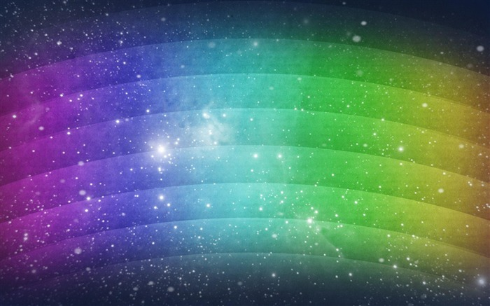 Rainbow-Abstract design wallpaper Views:21446