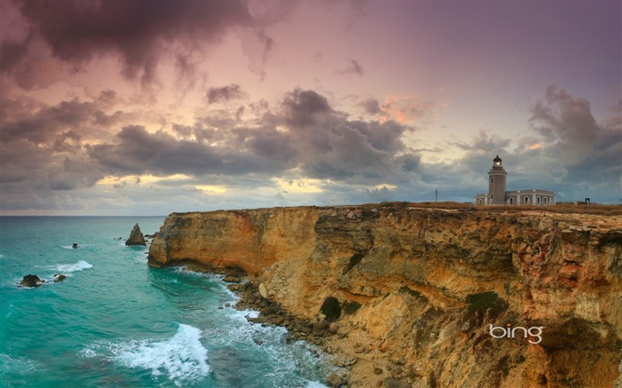 Red Point Lighthouse in Puerto Rico-Bing Wallpaper Views:21716