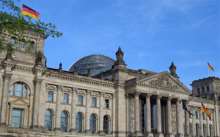 Reichstag Berlin Germany-City photography wallpaper Views:8122