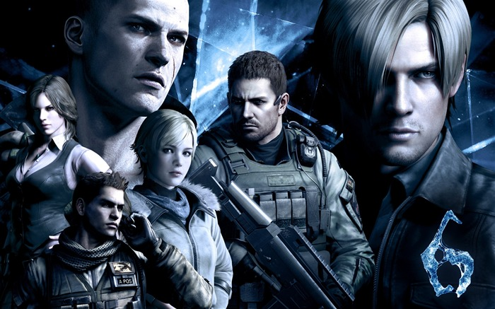 Resident Evil 6 Game HD Wallpaper Views:18990