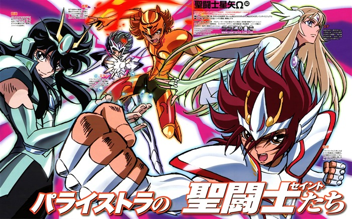 Saint Seiya Omega Anime HD wallpaper Views:21378
