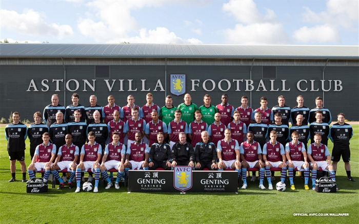 Aston Villa 2012 football desktop wallpaper Views:8228