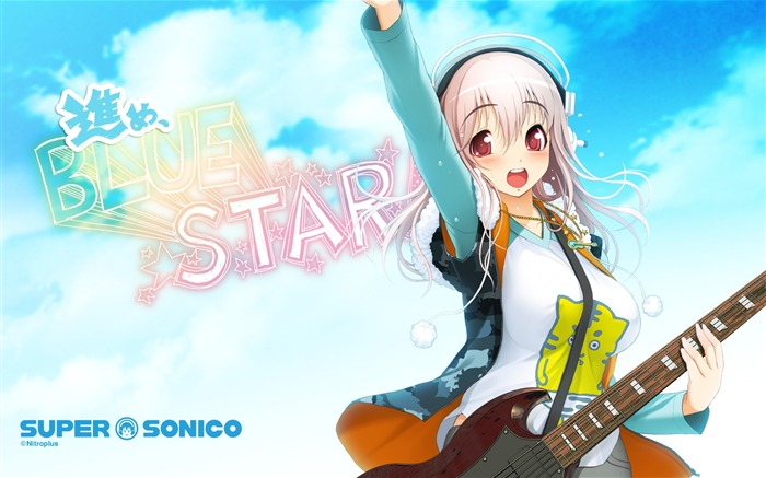 Super Sonico HD anime desktop Wallpapers Views:26951