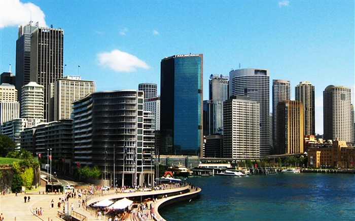 Sydney Modern Australian-City photography wallpaper Views:11698