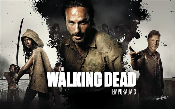 The Walking Dead-American TV series Wallpaper Views:27795