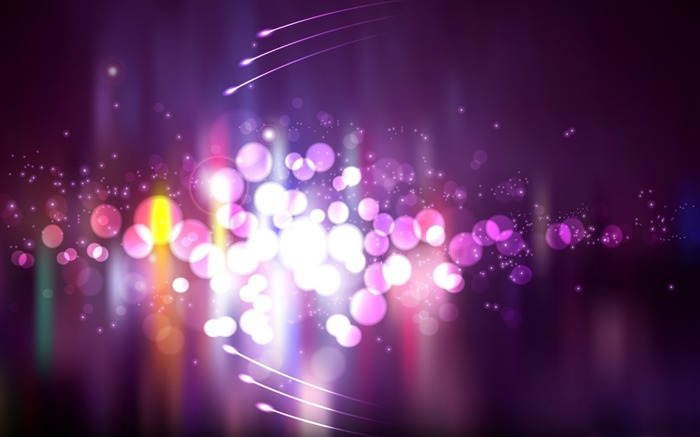 purple lights-Abstract design wallpaper Views:11988