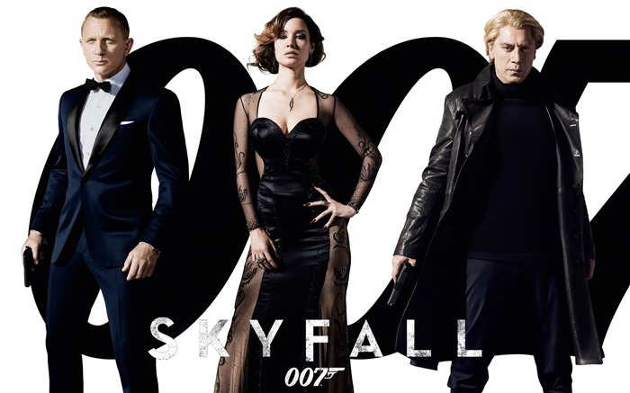007 Skyfall 2012 Movie HD Desktop Wallpapers 01 Views:8925
