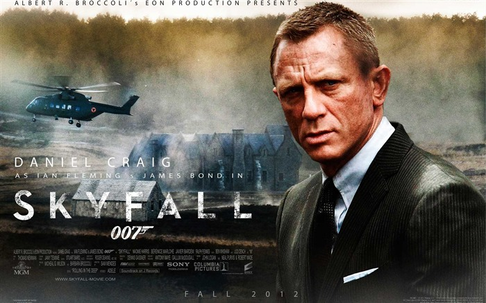 007 Skyfall 2012 Movie HD Desktop Wallpapers 02 Views:14435