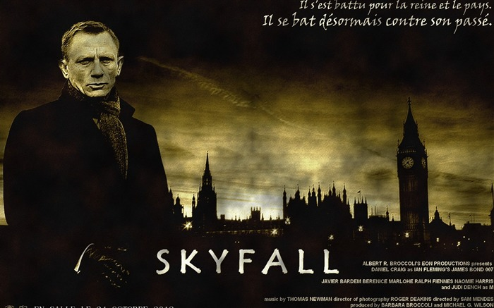 007 Skyfall 2012 Movie HD Desktop Wallpapers 11 Views:19748