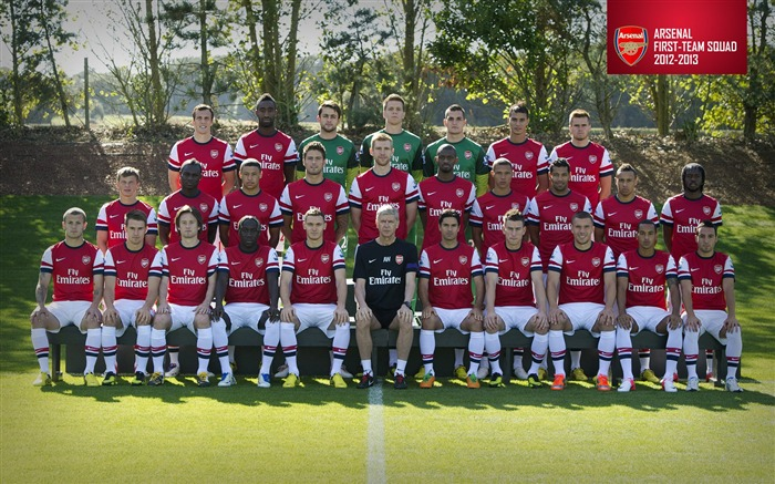 Arsenal First-team Squad-Arsenal 2012-13 season wallpaper Views:15488