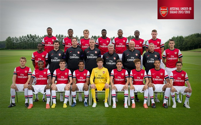 Arsenal Under-18 Squad-Arsenal 2012-13 season wallpaper Views:16787
