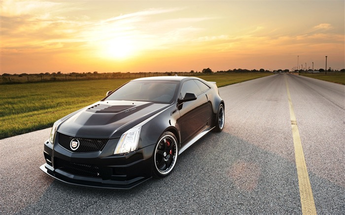 Cadillac CTS-V by Hennessey Auto HD Wallpapers 06 Views:5838
